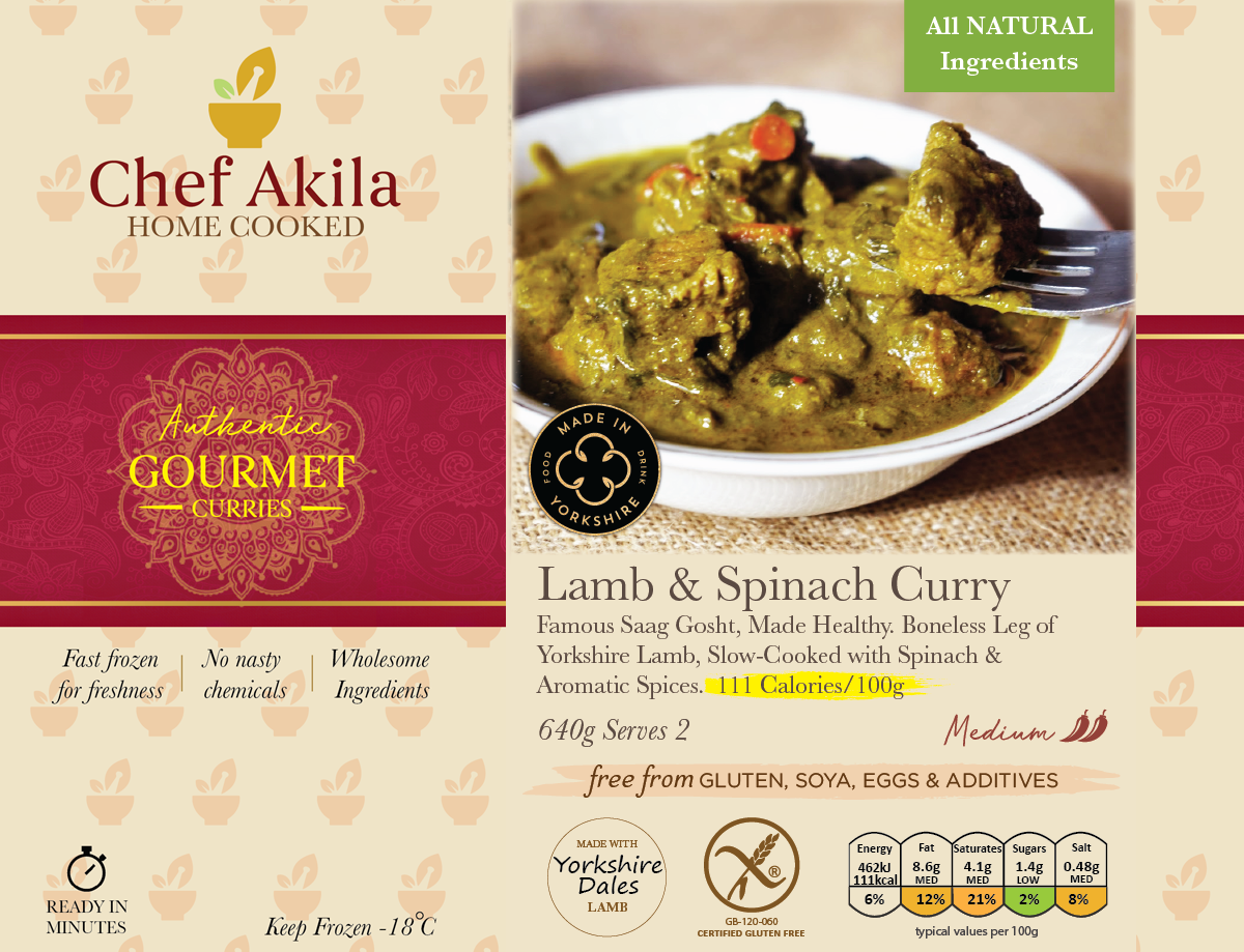 Lamb Spinach Curry